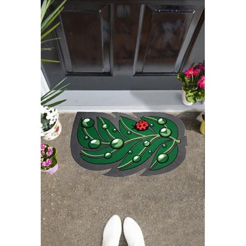 Giz Home İtalyan Sempatik Kapı Paspası 40X68 Yaprak - 103IS00YP1941 görseli, Picture 1