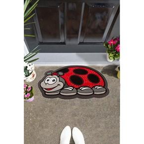 Giz Home İtalyan Sempatik Kapı Paspası 40X68 Uğur Böceği - 103IS00UB1941 görseli