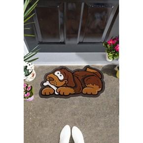 Giz Home İtalyan Sempatik Kapı Paspası 40X68 Köpek - 103IS00KO1941 görseli