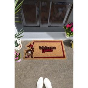 Giz Home İtalyan Kokardo Kapı Paspası 40X70 Sapkalı Kedi - 103IKKECA1931 görseli