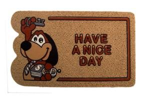 Giz Home İtalyan Kokardo Kapı Paspası 40X70 Anahtarlı Köpek - 103IKIYGU1931 görseli