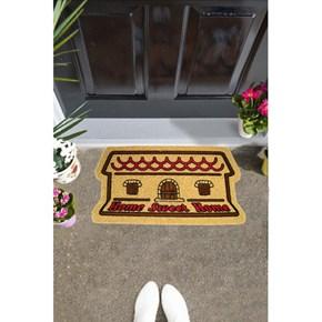 Giz Home İtalyan Kokardo Kapı Paspası 40X70 Home Sweet Home - 103IK0HSH1931 görseli