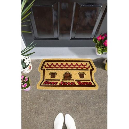 Giz Home İtalyan Kokardo Kapı Paspası 40X70 Home Sweet Home - 103IK0HSH1931 görseli, Picture 1