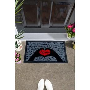 Giz Home İtalyan Format Kapı Paspası 40X68 I Feel Love - 103IFASEV1911 görseli