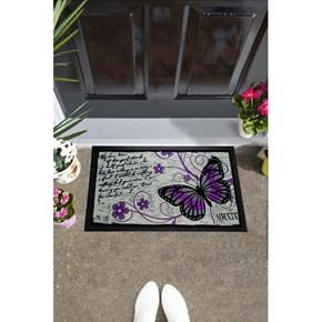 Giz Home İtalyan Format Kapı Paspası 40X68 Kelebek - 103IF00KB1911 görseli