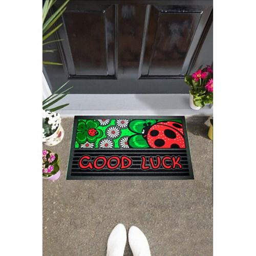 Giz Home İtalyan Format Kapı Paspası 40X68 Good Luck - 103IF00GL1911 görseli, Picture 1