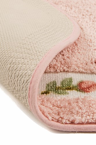 Giz Home Gül Banyo Paspası 80X150 Pink - 102GUPK002019 görseli, Picture 2