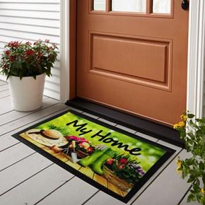 Giz Home İtalyan Format Kapi Paspasi 40X68 My Home Bahçe  - 103IFMYBH1911 görseli