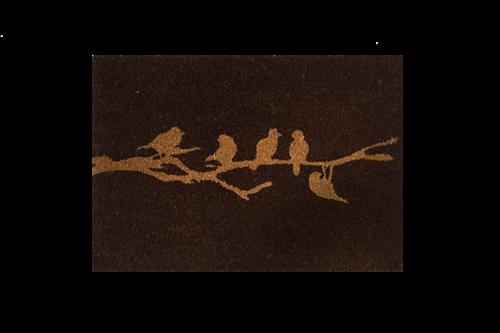 Giz Home Koko Kapı Paspası 40x60  Kahve Sonbahar Kuşlar - 103KKKHSK1901 görseli, Picture 2