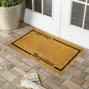 Giz Home Koko Kapı Paspası 33x60  Güle Güle Hoşgeldiniz - 103KKGGHG2043 görseli