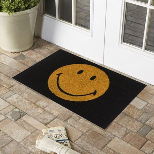 Giz Home Koko Kapı Paspası 40x60  Smile - 103KKGRSM1901 görseli, Picture 1