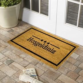 Giz Home Koko Kapı Paspası 33x60 Hoşgeldiniz 3 Yıldızlı - 103KKBJHY2205 görseli