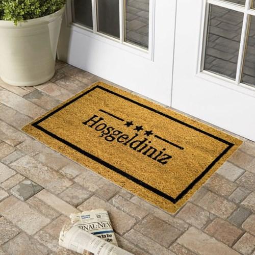 Giz Home Koko Kapı Paspası 33x60 Hoşgeldiniz 3 Yıldızlı - 103KKBJHY2205 görseli, Picture 1