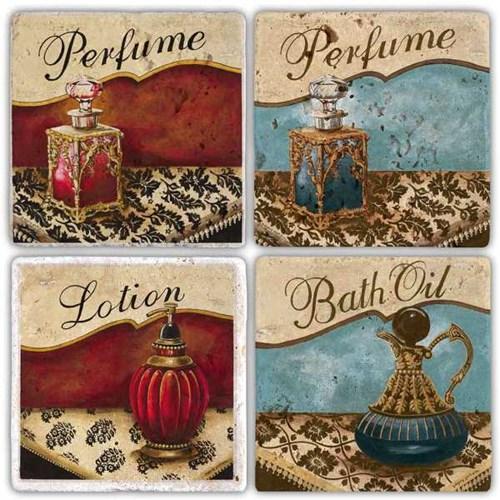 Parfume Doğal Taş Bardak Altlıkları - BA269 görseli, Picture 1