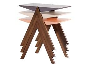 Piramit Zigon Sehpa Üçlü - PRM01ZS01 görseli