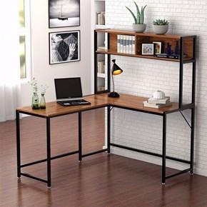 Zizuva Ceviz Kitaplıklı Çalışma Masası - ZZ2000-V200050 görseli