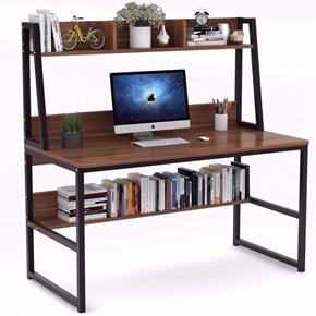 Zizuva Ceviz Modern Çalışma Masası - ZZ2000-V200047 görseli
