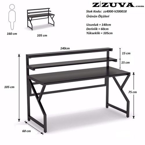 Zizuva Büyük Çalışma Masası - ZZ2000-V200018 görseli, Picture 4
