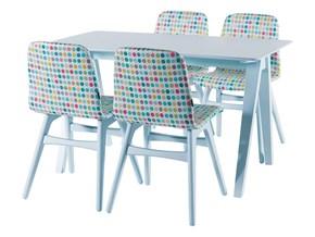 Juste Mutfak Masası Açık Mavi -JST01MS03 görseli