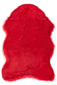 Giz Home Alaska Peluş Post Halı 100X150 Kırmızı - 304ALKM003038 görseli