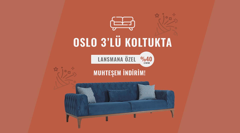 Oslo Koltuk