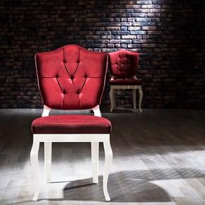 Hisar Beyaz Sandalye - HSR02BYZ görseli
