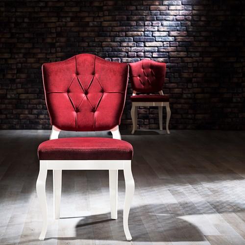 Hisar Beyaz Sandalye - HSR02BYZ görseli, Picture 1