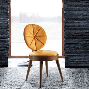 Gözde Ceviz Sandalye - GOZ01CV görseli