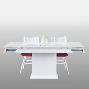 Baran Torna Beyaz Yemek Masası - BRN01BYZ görseli