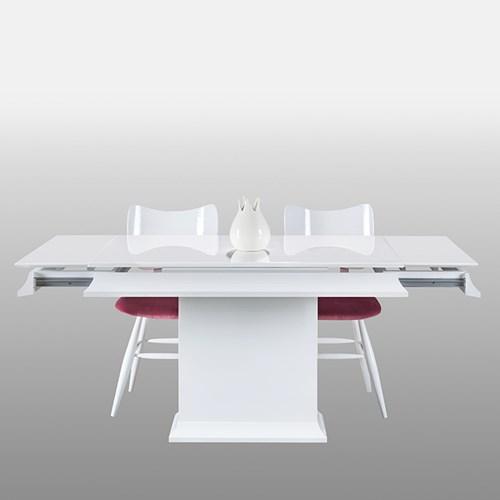 Baran Torna Beyaz Yemek Masası - BRN01BYZ görseli, Picture 1