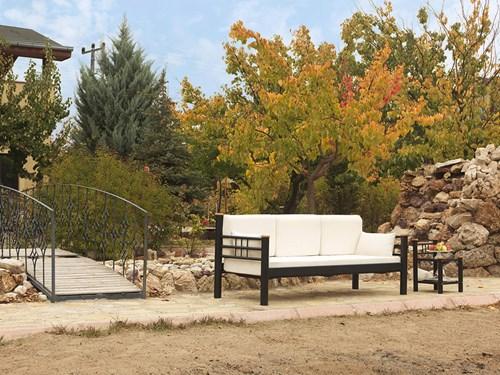 Kappis DK Çift Kişilik Bahçe Mobilyası - KAPRISDK83010MNDRL görseli, Picture 2