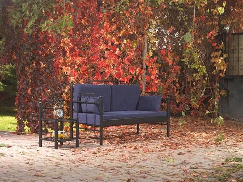 Hatkus DK Minderli Çift Kişilik Bahçe Mobilyası  görseli, Picture 1